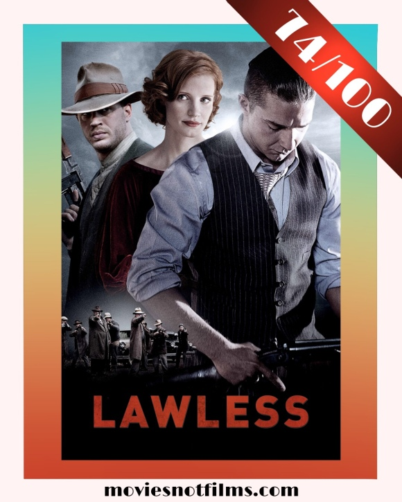 Lawless Poster scored 74/100