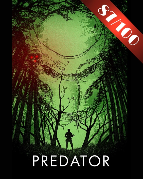 Predator Movie Poster 87 / 100