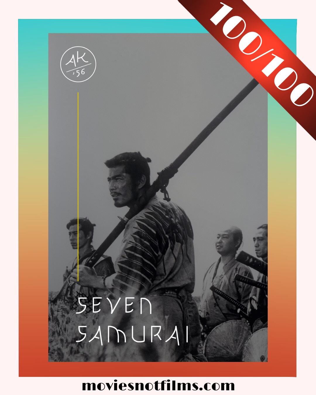 Seven Samurai Poster 100/100
